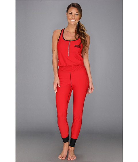 Ward's Boxing Club NYC - Stick And Move 1Z (Round Red/Barn Burner Black) Women's Jumpsuit & Rompers One Piece