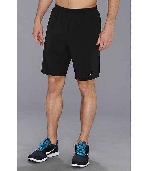 Nike - 9 Distance Short (Black/Antracite/Black/Reflective Silver) Men