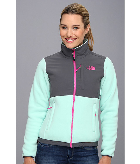 The North Face Denali Jacket (Recycled Beach Glass Green/Vanadis Grey) Women's Jacket