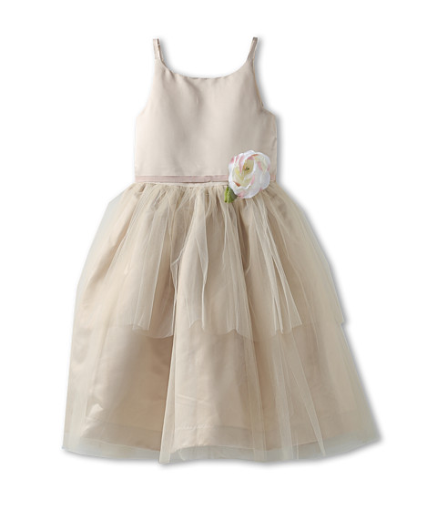 Us Angels - Ballerina Dress (Big Kids) (Champagne) Girl's Dress