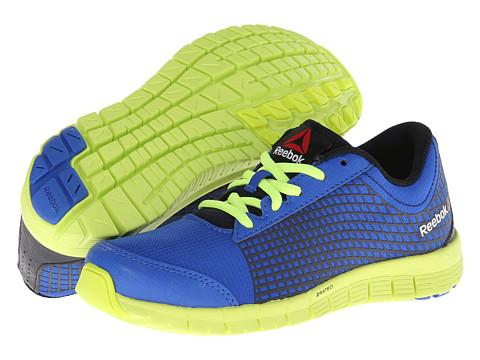 Reebok Kids - Reebok Z Run (Little Kid) (Vital Blue/Reebok Navy/Neon Yellow/White) Boys Shoes
