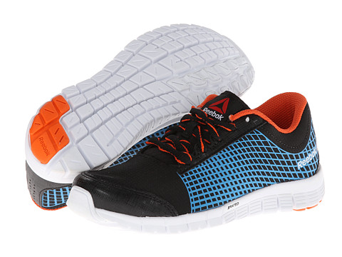 Reebok Kids - Reebok Z Run (Little Kid) (Black/Blue Bomb/Swag Orange/White) Boys Shoes