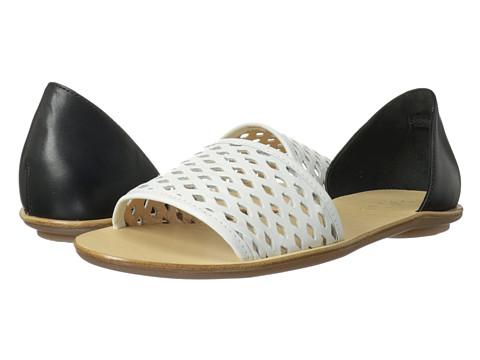 Loeffler Randall - Sawyer (White/Black) Women's Sandals