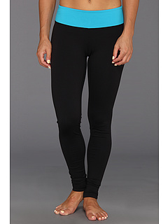 SALE! $29.99 - Save $39 on Alejandra Sky Felicia Legging (Turquoise Black) Apparel - 56.54% OFF $69.00