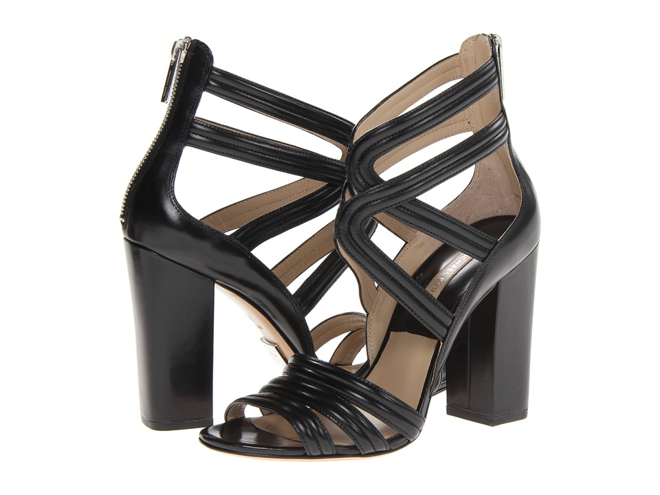 Michael Kors - Preston (Black Palladium Smooth Calf) High Heels