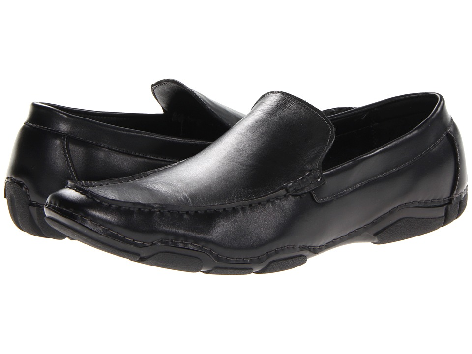 Kenneth Cole Reaction - De-Tour (Black) Men's Slip-on Dress Shoes