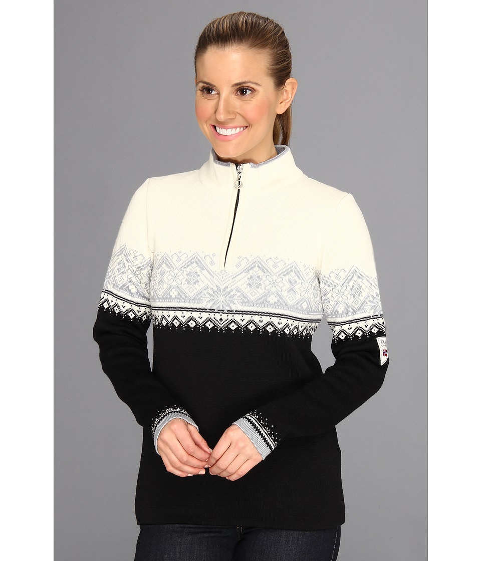 Dale of Norway - St. Moritz Feminine (Black/Metal/Off White) Women's Sweater