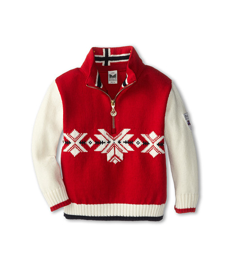 Dale of Norway - Sochi Sweater (Toddler/Little Kids/Big Kids) (Raspberry/Off White) Sweater