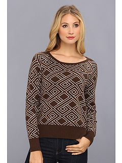 SALE! $29.99 - Save $67 on LAmade Boatneck Tie Top W Side Slits (Umber Seed Pearl) Apparel - 69.08% OFF $97.00
