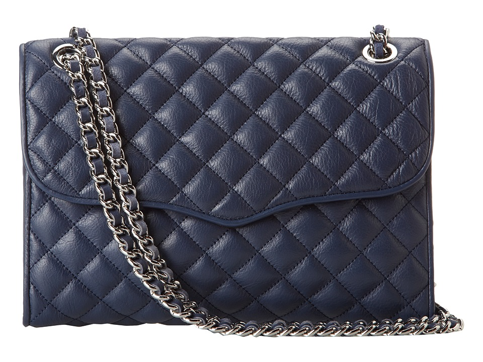 Rebecca Minkoff - Quilted Affair (Denim) Shoulder Handbags