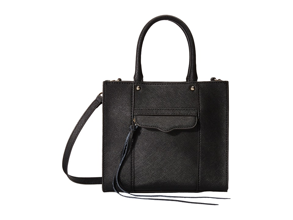 Rebecca Minkoff - Mab Tote Mini (Black) Tote Handbags