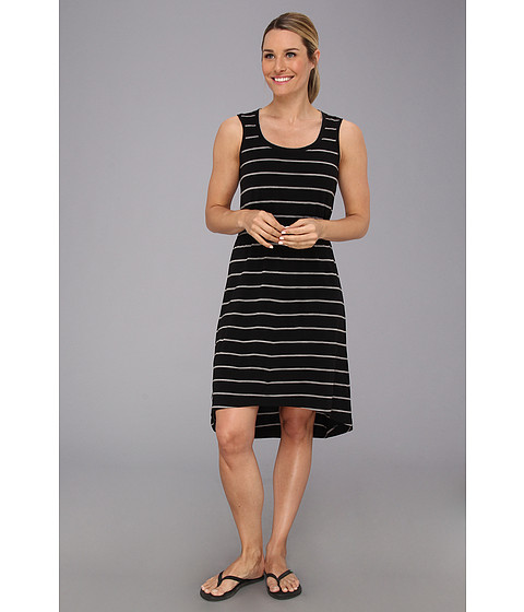 Icebreaker - Crush Dress Stripe (Black/Metro) Women