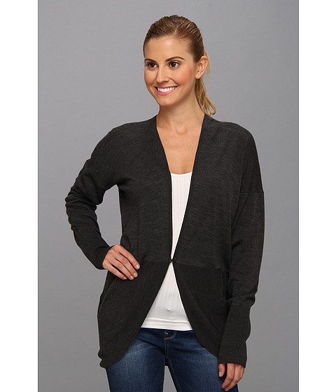 Icebreaker - Ariana Wrap (Jet) Women's Sweater