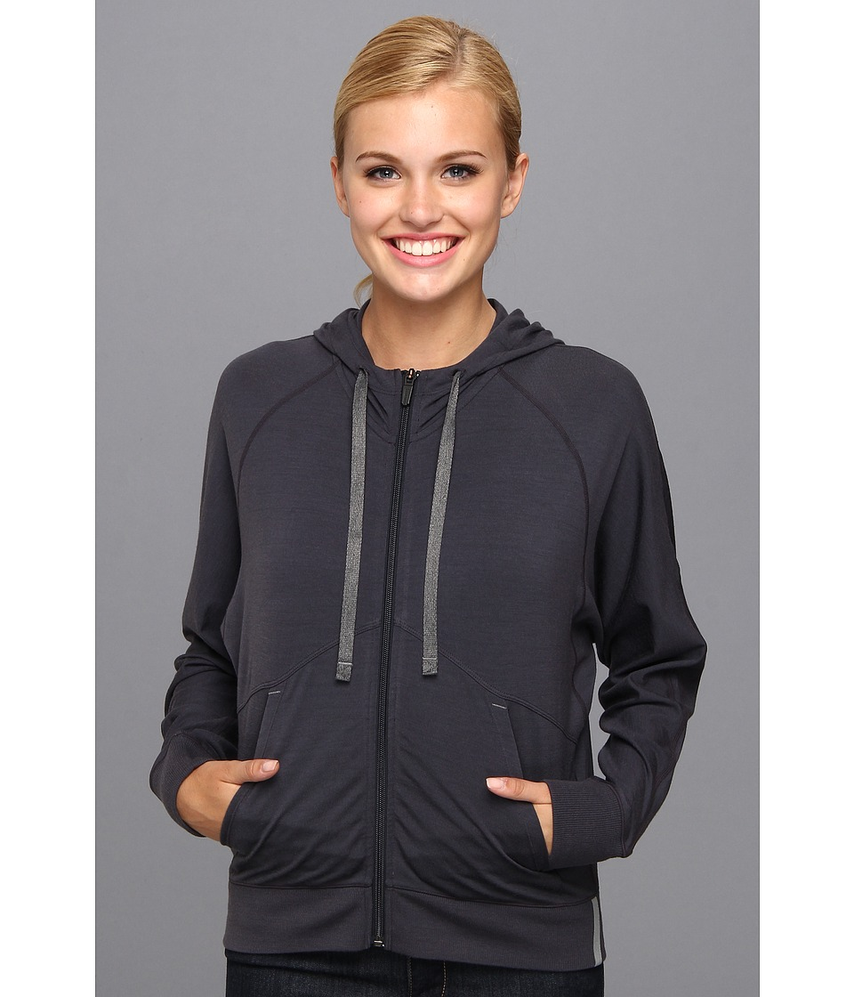 Icebreaker - Sublime Long Sleeve Zip (Panther) Women