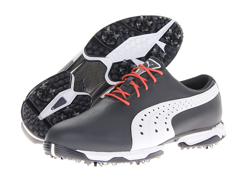 PUMA Golf - Neolux (Ebony/White) Men's Golf Shoes