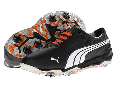 PUMA Golf - Biofusion (Black/White/Puma Silver) Men