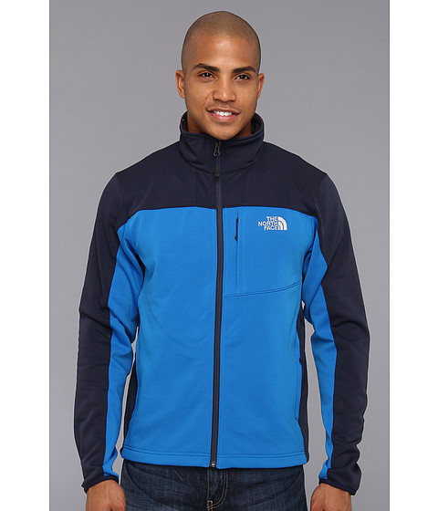 The North Face Momentum Jacket (Drummer Blue/Cosmic Blue) Men's Coat