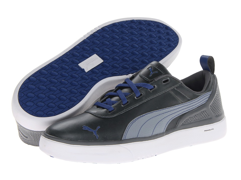 PUMA Golf - Monolite (Tradewinds/White/Monaco Blue) Men's Golf Shoes