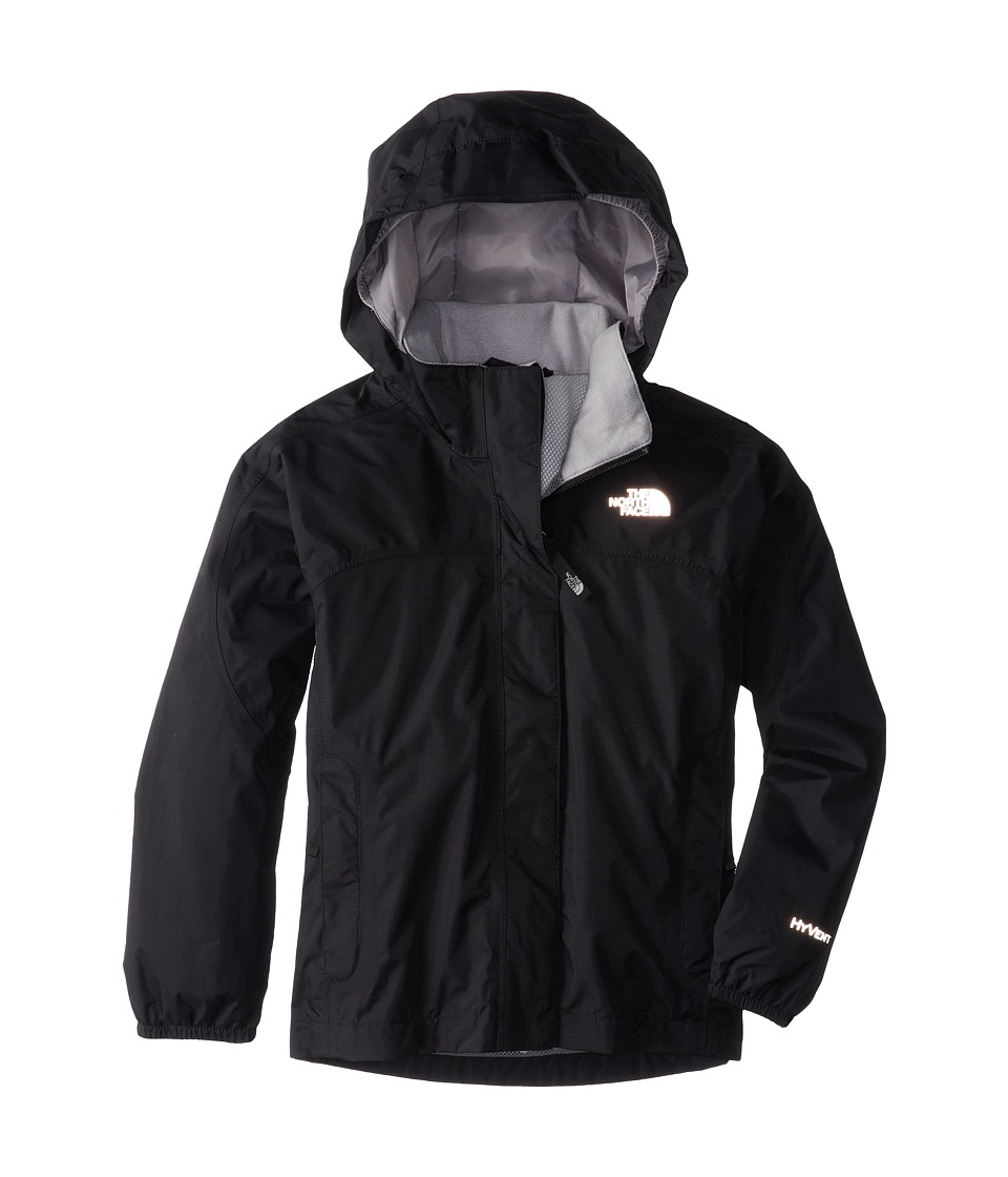 The North Face Kids - Resolve Reflective Jacket (Little Kids/Big Kids) (TNF Black) Girl's Coat