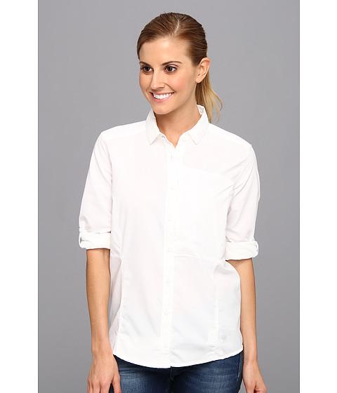Mountain Hardwear - Canyon L/S Shirt (White) Women