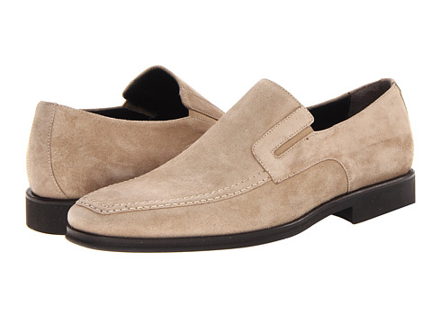 BRUNO MAGLI - Raging (Taupe Suede) Men's Slip-on Dress Shoes
