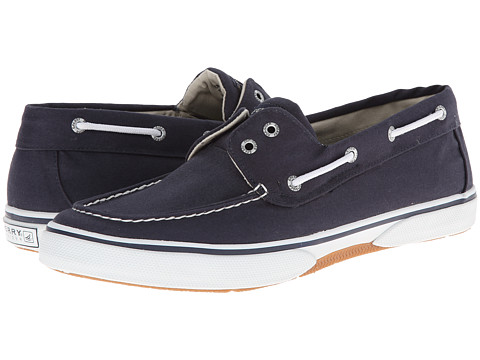 Sperry Top-Sider - Halyard 2-Eye Slip-On (Navy) Men's Shoes