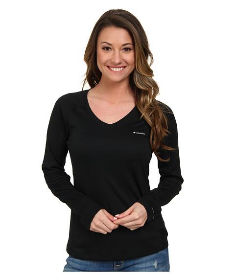 Columbia - Zero Rules L/S Shirt (Black) Women