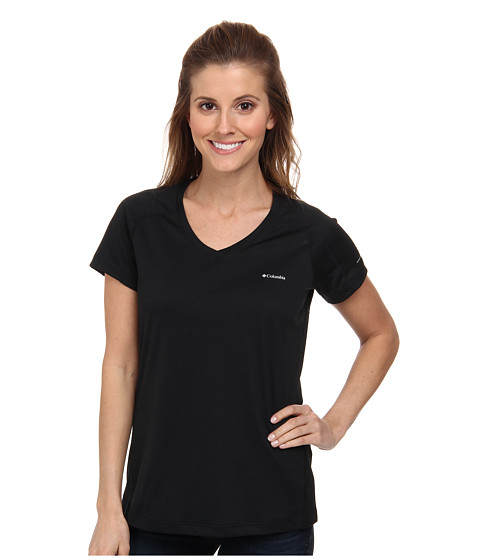 Columbia - Zero Rules S/S Shirt (Black) Women's T Shirt