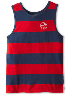 SALE! $14.99 - Save $10 on Vans Kids Bidwell Tank Top (Big Kids) (Reinvent Red Dark Denim) Apparel - 38.82% OFF $24.50