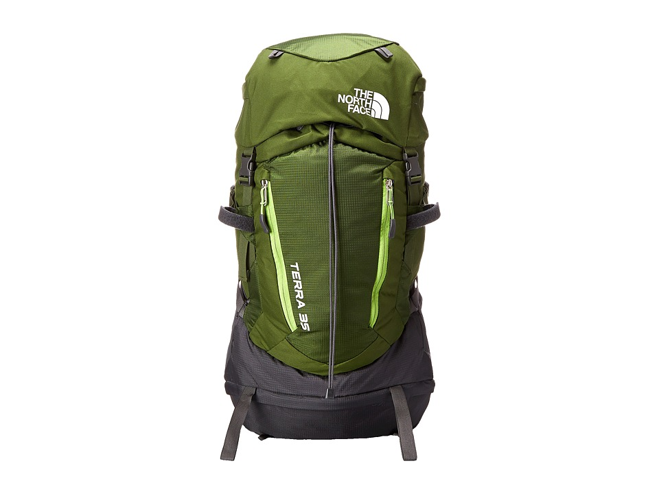 The North Face - Terra 35 (Youth) (Scallion Green/Tree Frog Green) Day Pack Bags