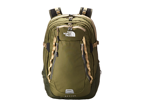The North Face - Router (Burnt Olive Green/Military Green) Day Pack Bags