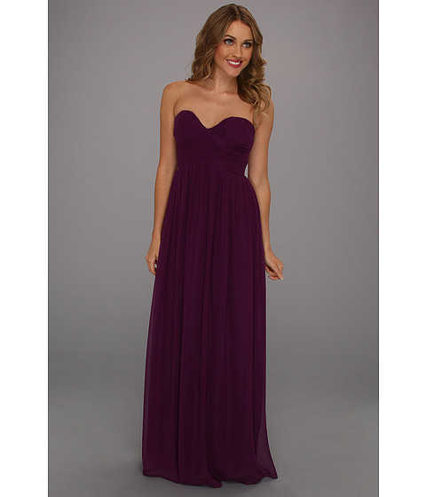 Donna Morgan - Laura Gown (Grape) Women's Dress