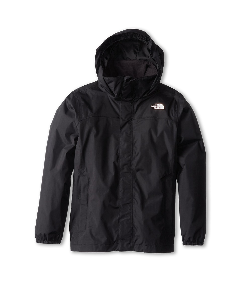 The North Face Kids - Resolve Reflective Jacket (Little Kids/Big Kids) (TNF Black) Boy's Coat