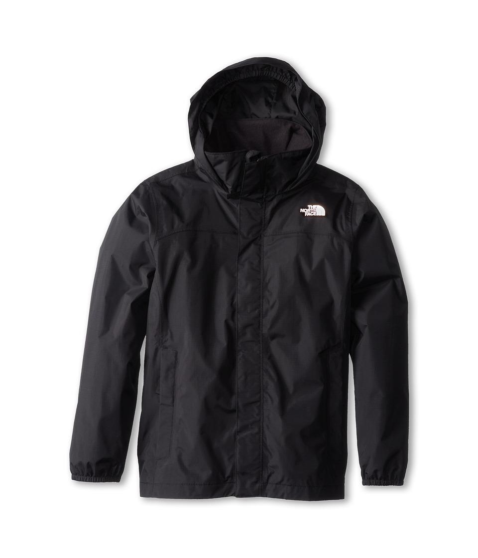 The North Face Kids - Resolve Reflective Jacket (Little Kids/Big Kids) (TNF Black) Boy's Coat