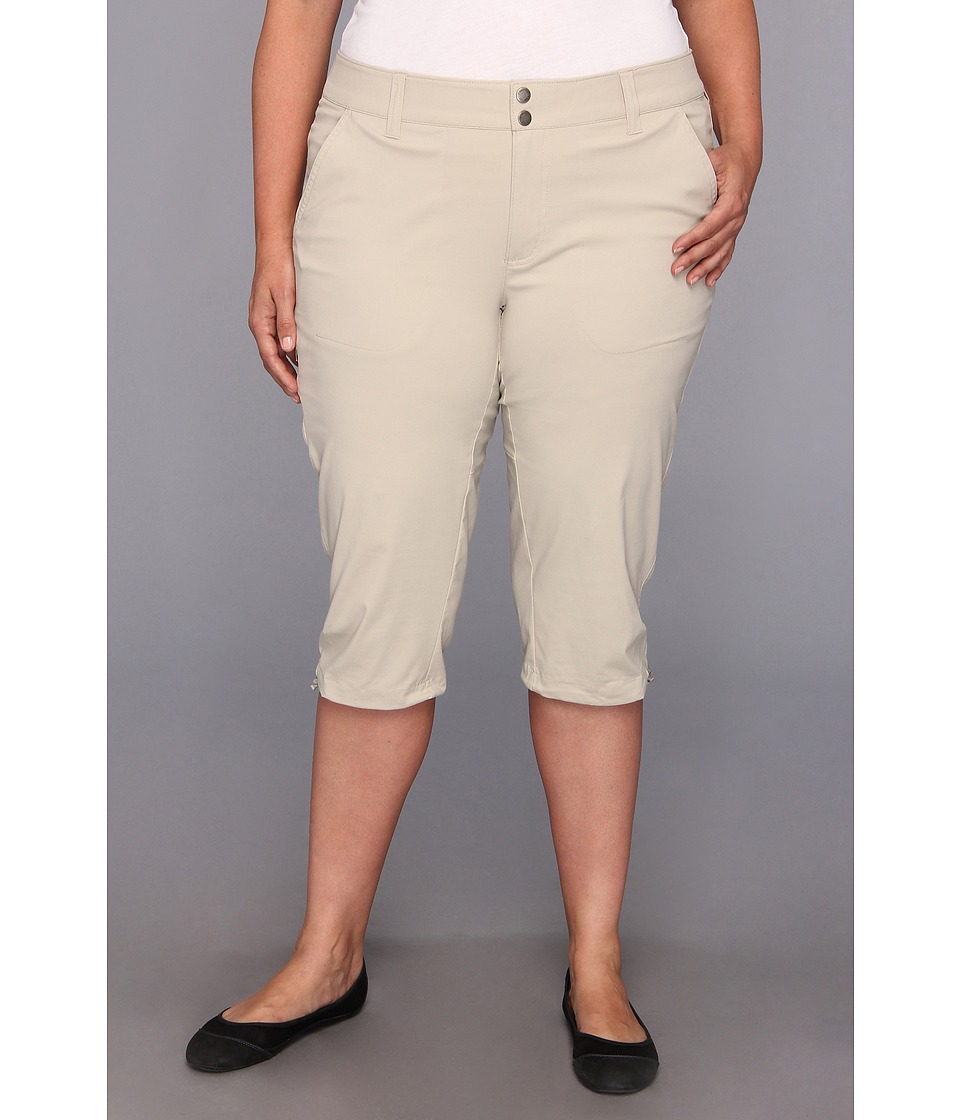 Columbia - Plus Size Saturday Trail II Knee Pant (Fossil) Women's Capri