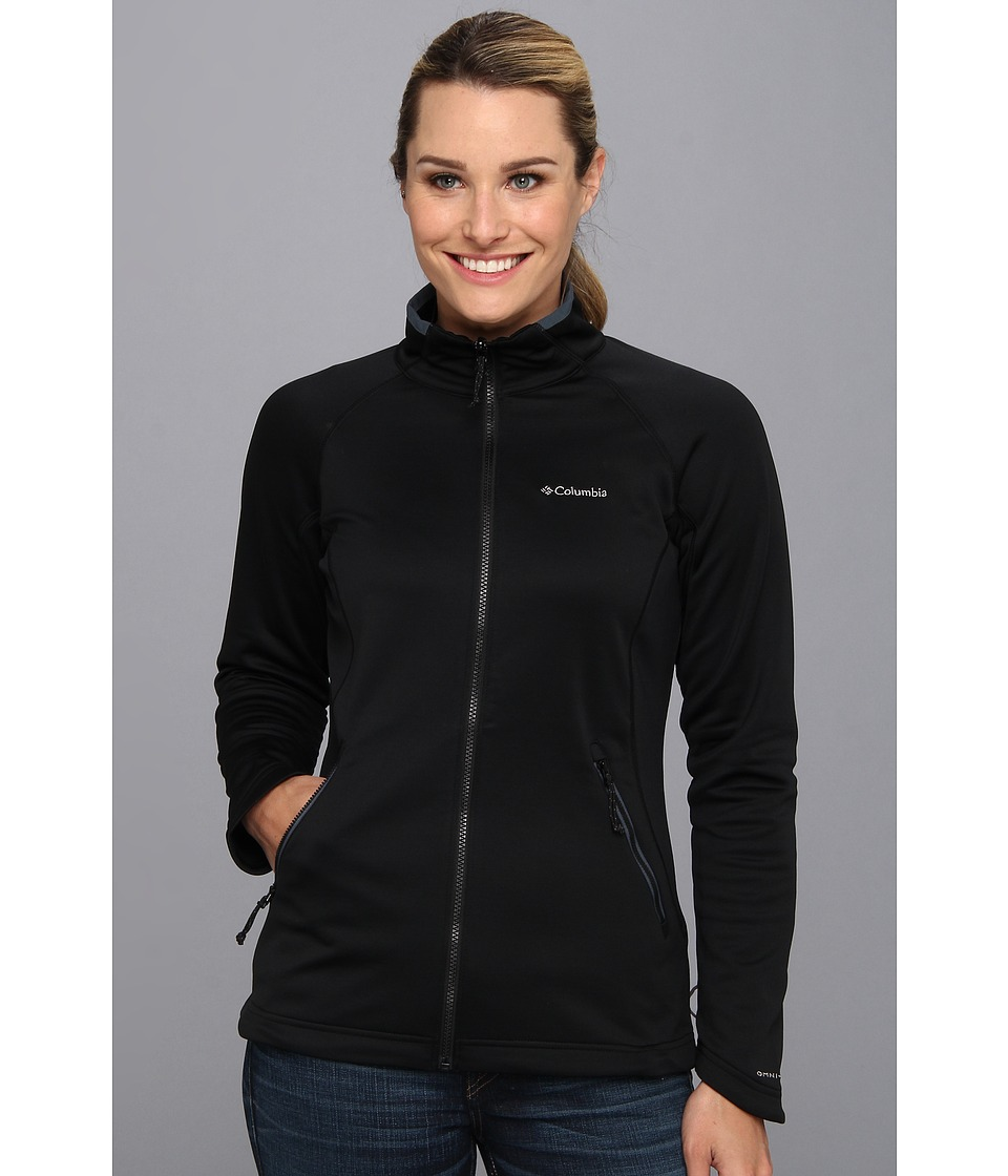 Columbia - Evap-Change Fleece Jacket (Black/Mystery) Women's Coat
