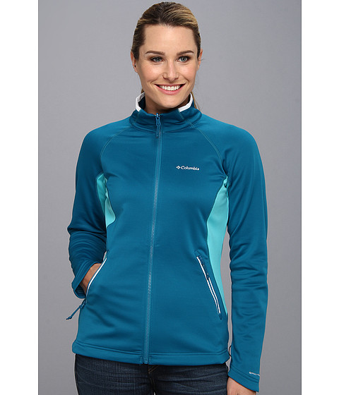Columbia - Evap-Change Fleece Jacket (Siberia/Geyser/White) Women's Coat