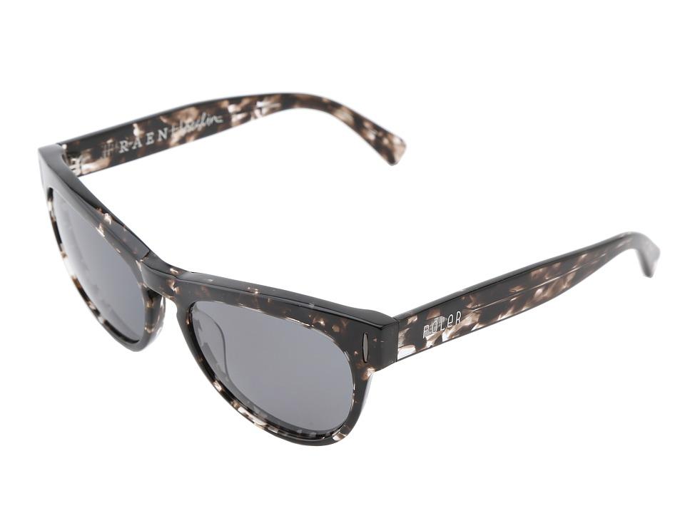 RAEN Optics - Breslin Poler Collab (Grey Crystal/Black Polarized) Sport Sunglasses