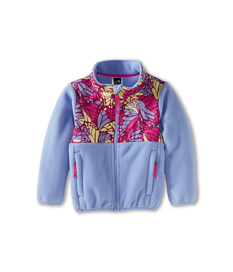 The North Face Kids - Denali Jacket (Toddler) (Recycled Lavendula Purple/Azalea Pink Print) Girl's Coat
