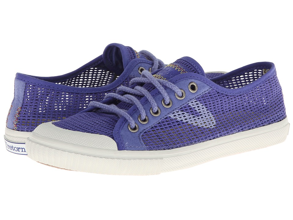 Tretorn - Seksti Mesh (Blue Iris) Women's Lace up casual Shoes