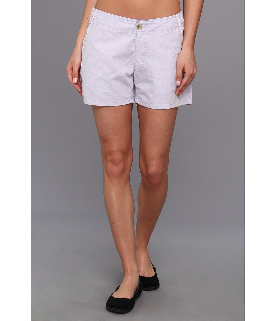 Columbia - Solar Fade Short (Whitened Violet Oxford) Women's Shorts