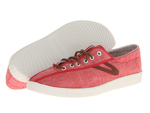 Tretorn - Nylite Linen (Fiery Red) Men's Lace up casual Shoes