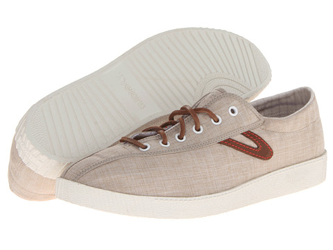 Linen Oxford Shoes Tretorn Nylite Linen Oxford