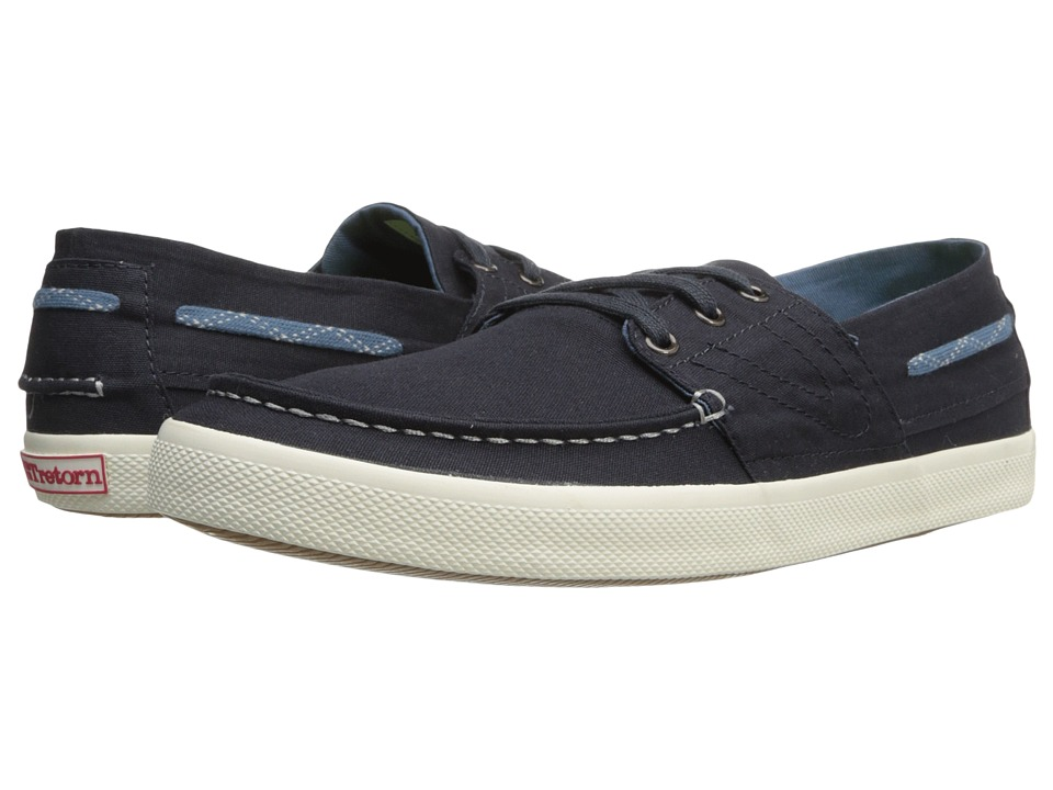 Tretorn - Otto Canvas (Dark Navy) Classic Shoes