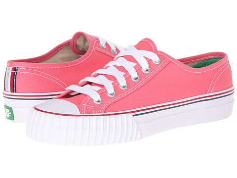 PF Flyers - Center Lo (Watermelon Canvas 4) Lace up casual Shoes