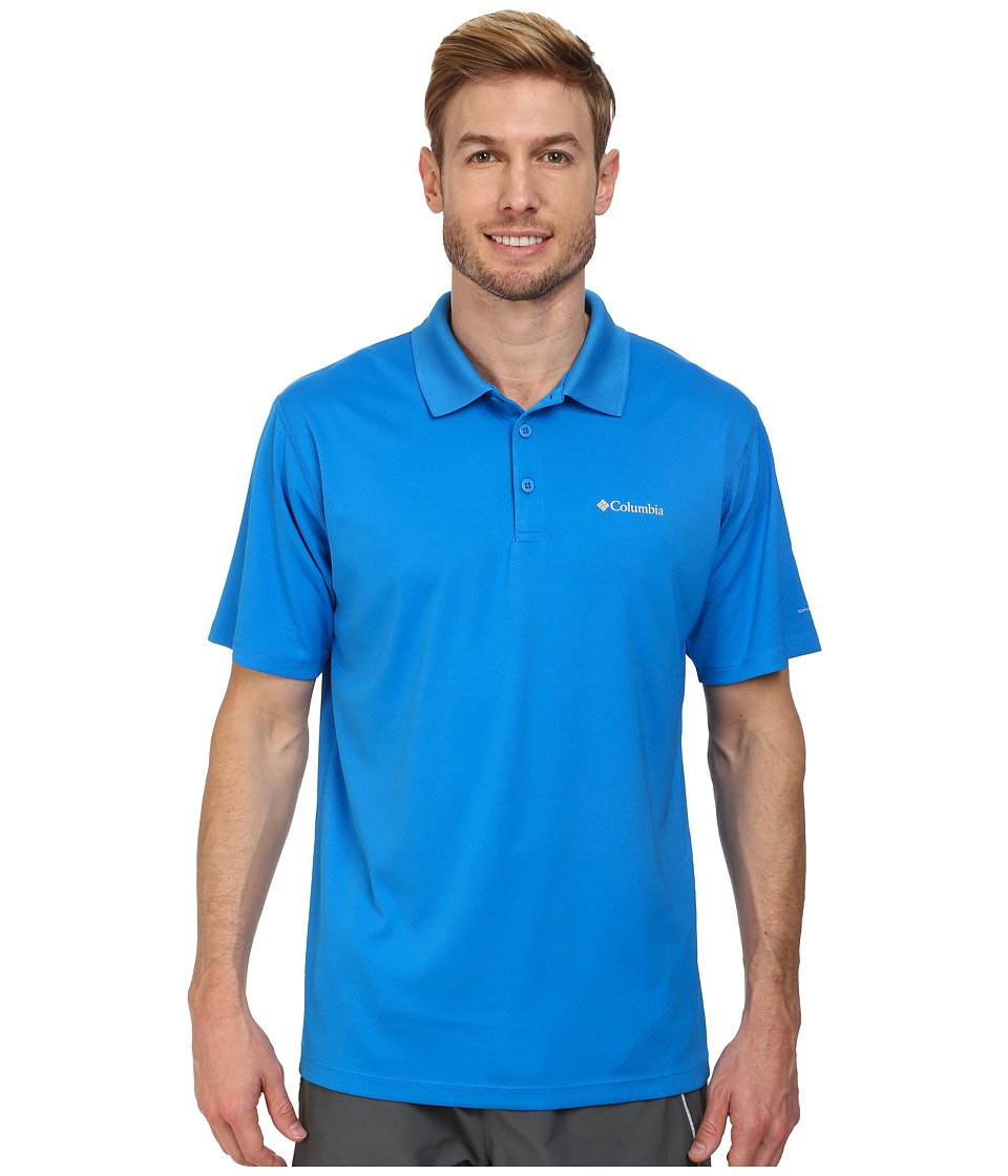 Columbia - Zero Rules Polo (Hyper Blue) Men's Short Sleeve Pullover