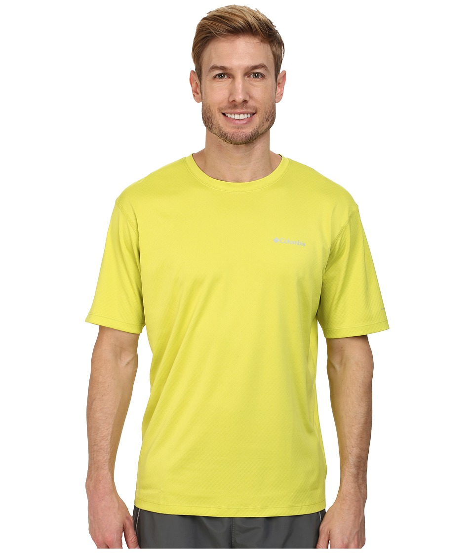 Columbia - Zero Rules S/S Shirt (Chartreuse) Men's Short Sleeve Pullover