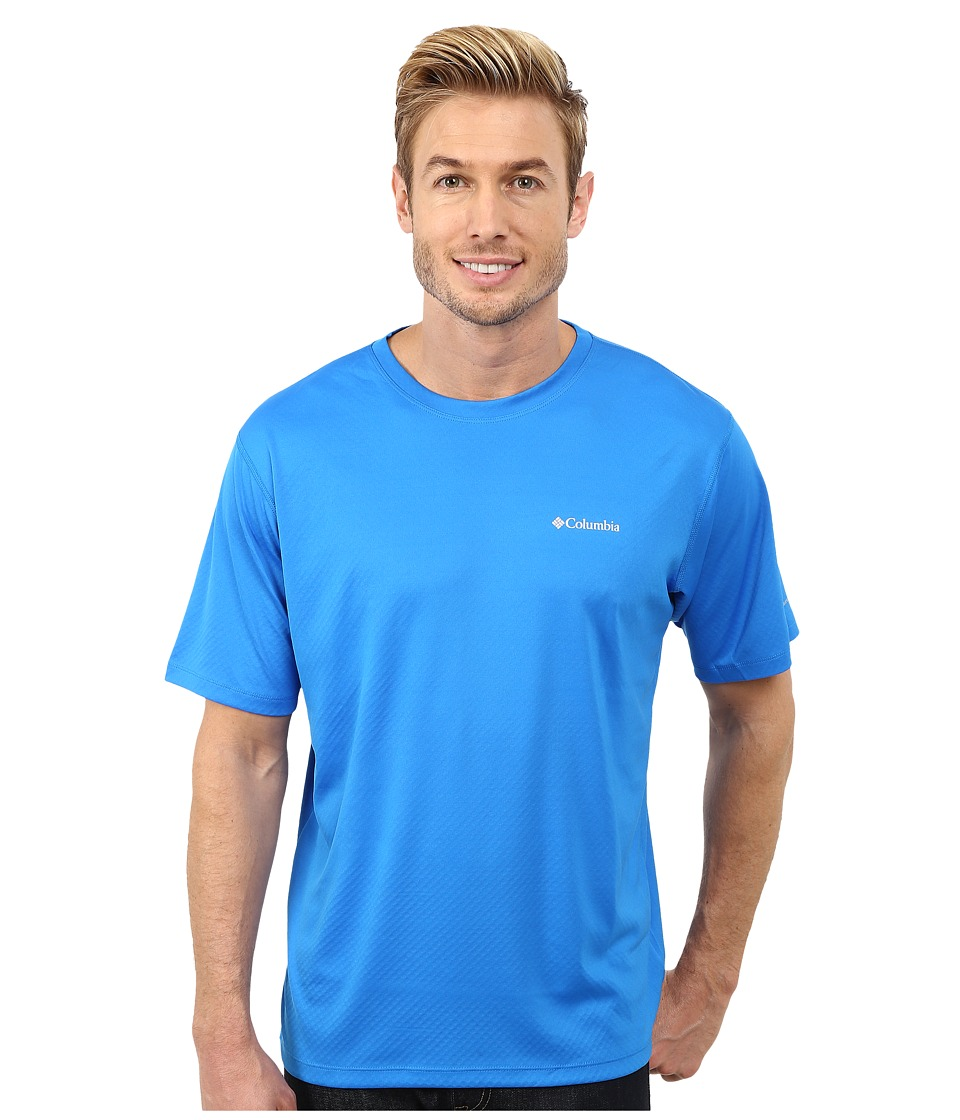 Columbia - Zero Rules S/S Shirt (Hyper Blue) Men's Short Sleeve Pullover