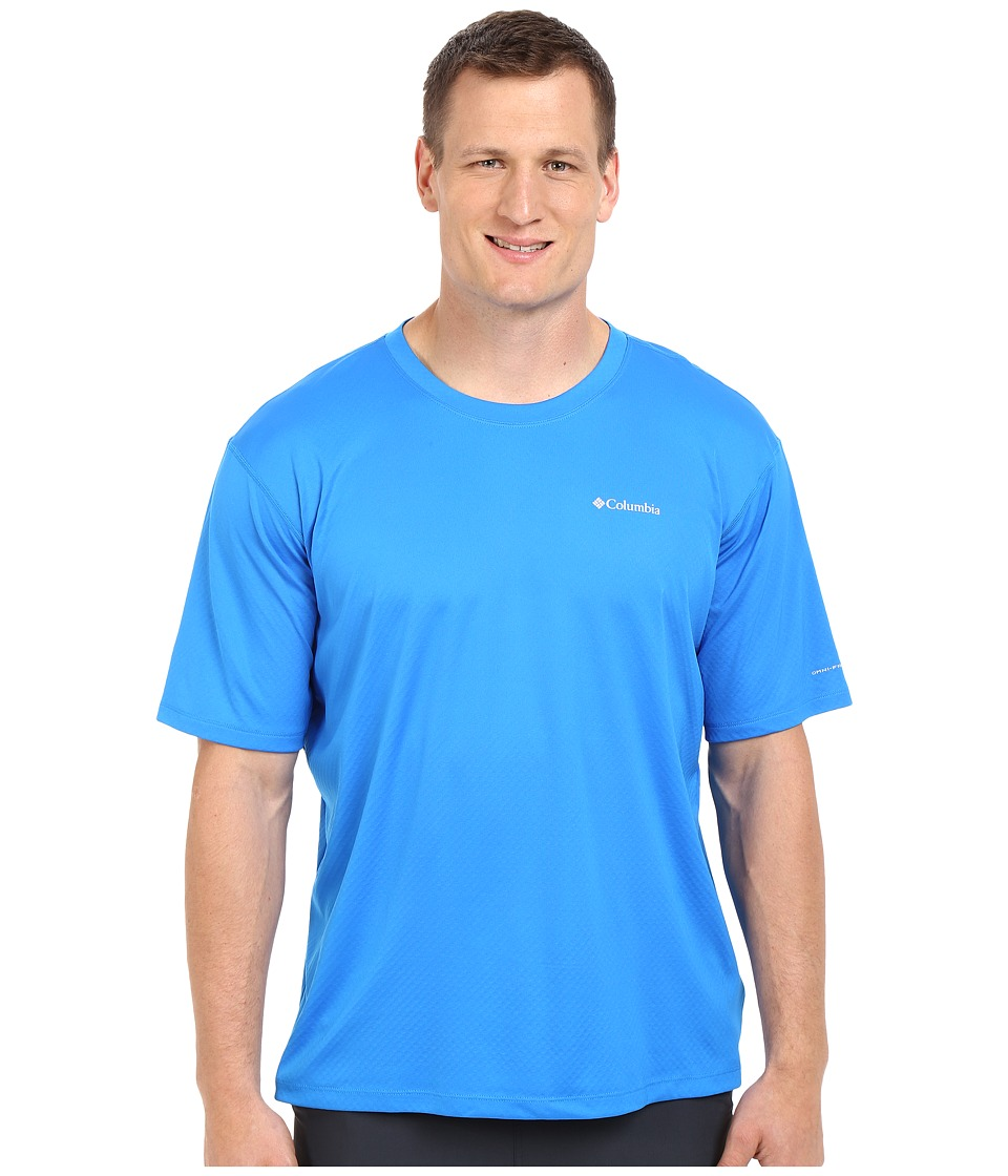 Columbia - Zero Rules S/S Shirt - Big (Hyper Blue) Men's Short Sleeve Pullover