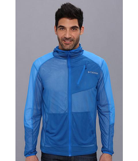 Columbia - Insect Blocker Mesh Jacket (Windswept/Hyper Blue) Men's Coat
